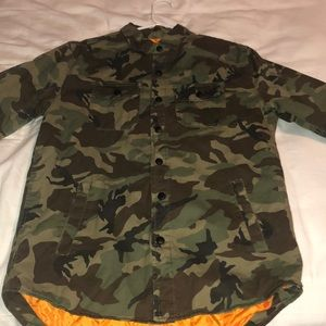 Army fatigue jacket Pacsun